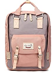 Water-resistant Casual Travel Backpack Laptop Backpack Student School Bag fits 14inch Laptop for Daily Use