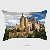 Custom Satin Pillowcase Protector Castle Of Segovia Spain 271997870 Pillow Case Covers Decorative