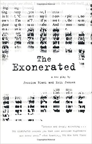 The Exonerated A Play 9780571211838 Jessica