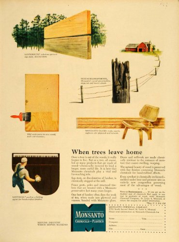 1949-ad-monsanto-chemical-co-wood-preservatives-glue-original-print-ad