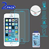 Tempered Glass Screen Protector (2.5D)(2-pack) for APPLE iPhone 5s/5 APPLE iPhone 5c APPLE iPhone SE