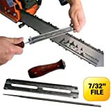 LASER File Guide 7/32 Inch For Sharpening Saw Chain - 3/8 Inch Pitch & 404 Inch Gauge