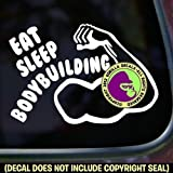 Best Gorilla Decals Bodybuilding Books - EAT SLEEP BODYBUILDING Vinyl Decal Sticker A Review