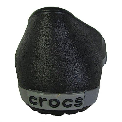 Noir Airy Crocband charbon Flat Crocs qpCwZSx