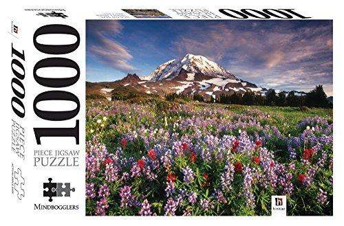 Mount Rainier National Park, Washington: Mindbogglers 1000-piece Jigsaws - Malaysia Online Bookstore