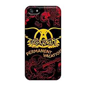 Apple Iphone 5/5s GRq403dfZL Allow Personal Design Stylish Aerosmith Band Series Shock Absorbent Hard Phone Cases -ChristopherWalsh