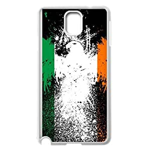 Irish Flag Samsung Galaxy Note 3 Cell Phone Case White U3591524