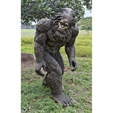 Superbe Barnabas The Giant Life Size Bigfoot Yeti Statue Garden Sculpture New