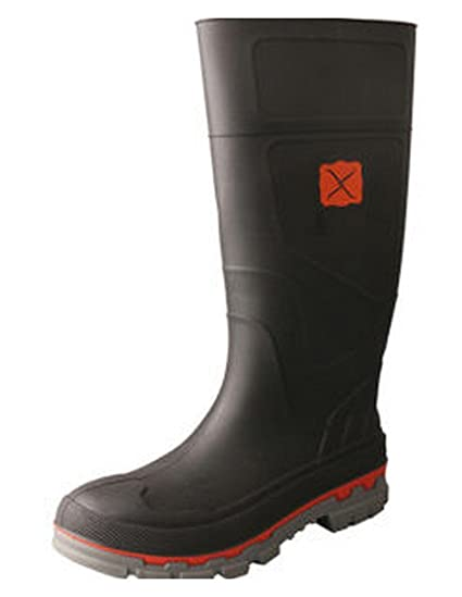 54a76cbc8af8f Amazon.com: Twisted X Mens Mwb0001 Closed Toe Knee High Safety Boots ...