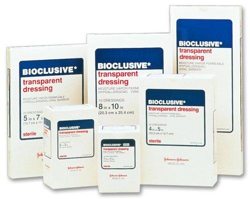Bioclusive Transparent Dressing 4 x 5 in./Qty 50 Johnson Bioclusive Transparent Dressing