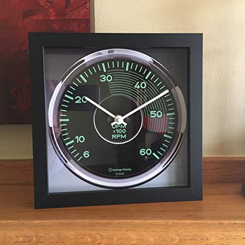 Porsche 356 Racing - Porsche 356 Tachometer Wall/Shelf Clock