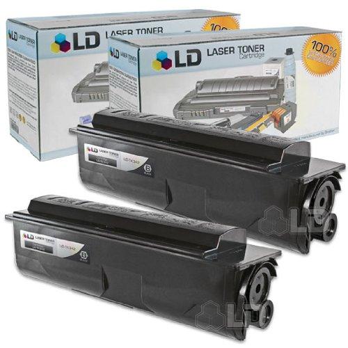 (LD Compatible Toner Cartridge Replacement for Kyocera FS-2020D TK-342 (Black, 2-Pack))