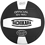 volleyball outdoor - Tachikara Institutional quality Composite VolleyBall, Black-White
