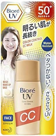 Biore from Thailand UV Color Control CC Milk SPF50+/PA++++30 Ml