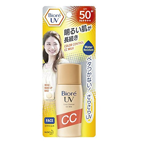 Biore from Thailand UV Color Control CC Milk SPF50+/PA++++30 for sale  Delivered anywhere in USA