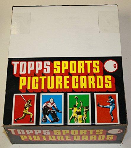 1987 Topps Baseball Rack Pack Box