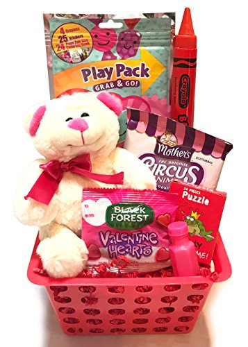 Toddleru0027s - For Toddler - Filled Valentines Gift Basket- Lots Of Fun for Valentineu0027s Day Activities! (Sweetest Valentine)  sc 1 st  Mom Says Itu0027s Cool & Toddleru0027s - For Toddler - Filled Valentines Gift Basket- Lots Of Fun ...