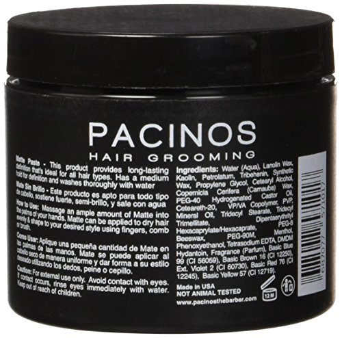 Pacinos Matte 4 Ounce Buy Online In Uae Health And