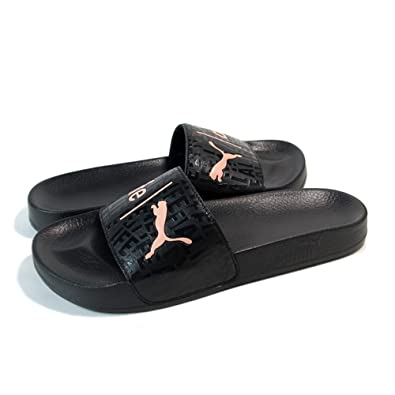 a74fe05ac64c9b Puma X Alife Leadcat Black Luxury Sliders Flip Flops Sandals Slides ...