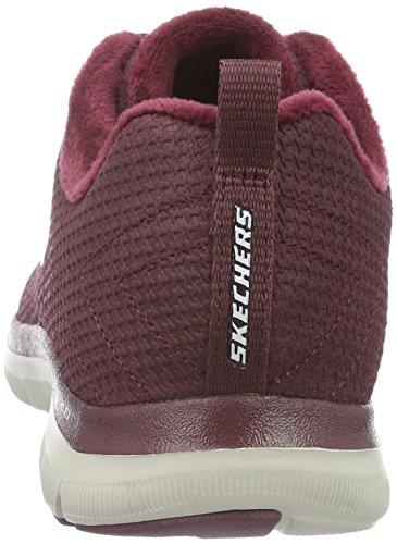 Skechers Flex Appeal 2.0-Shadow Play, Zapatillas de Deporte para Mujer Burg