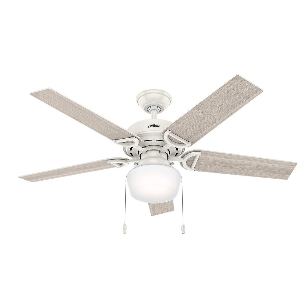 Hunter Fan Company 53417 Hunter 52'' Viola Fresh White LED Light Ceiling Fan