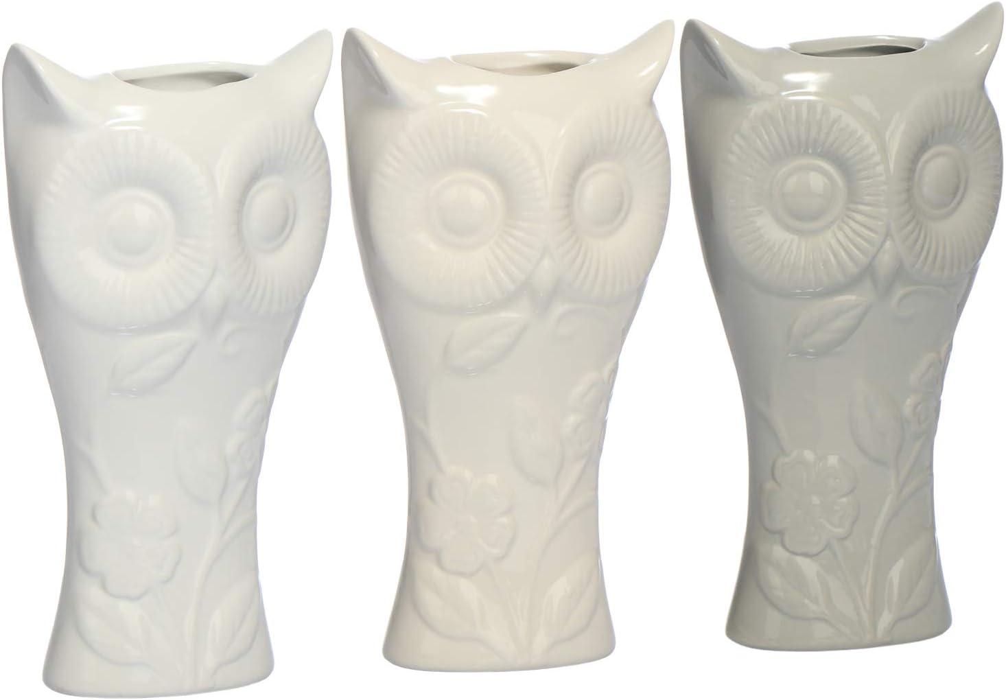 Radiatore Umidificatore in Bianco Riscaldamento Evaporatore dAcqua in Ceramica con Motivo della casa 03 Pezzi - casa com-four/® 3X Umidificatore Riscaldamento