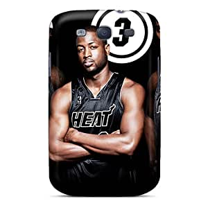 High Quality Jrcarter Miami Heat Skin Case Cover Specially Designed For Galaxy - S3