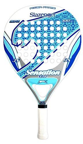Slazenger Sensation MAX Pala de pádel, Unisex, Azul/Blanco, 38 mm: Amazon.es: Deportes y aire libre