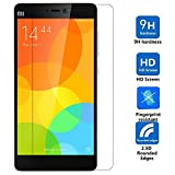 DMG Xiaomi Mi4i / Mi 4i Tempered Glass Screen Protector (2.5D Bubble-Free,No Fingerprints Anti-Scratch Oil Coated Washable)