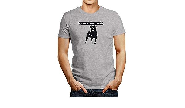 Idakoos propiedad de una camiseta Rottweiler: Amazon.es: Ropa ...