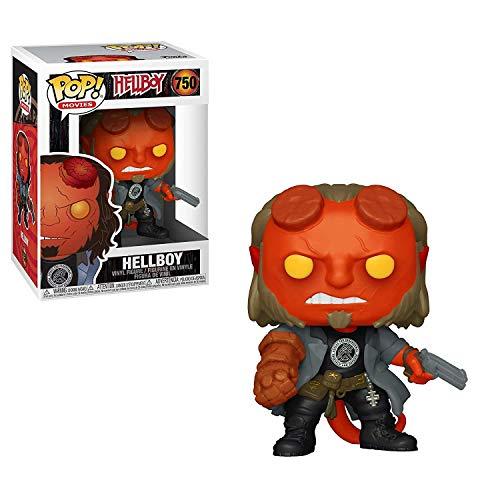 Funko Pop! Movies: Hellboy - Hellboy with BPRD Tee
