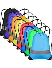 5e2c0ea9ec Cinch Sack Drawstring Backpack String Sinch Tote Nap Bag for Kids Gym