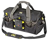CLC Custom Leathercraft P235 Tech Gear Power Distribution Tool Bag, 18-Inch