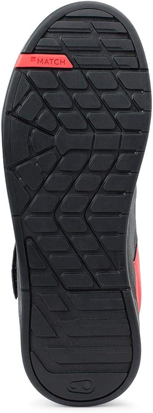 Size 13 Crank Brothers Stamp SpeedLace Men/'s Flat Shoe Gray//Red//Black