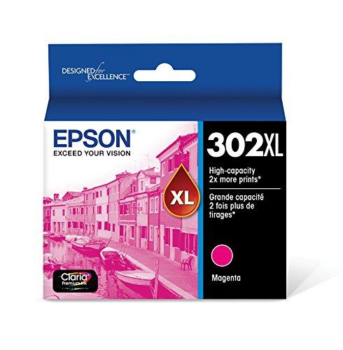 Epson T302XL320 Claria Premium High-Capacity Ink Cartridge - Magenta