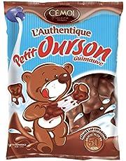Faites des économies sur Cémoi Sachet l'Authentique Petit Ourson Guimauve au Chocolat au Lait 180 g - Lot de 5 et plus encore