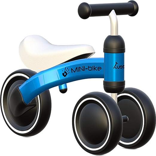 Bicicleta sin pedales Bici Mini Bicicleta para niños pequeños - Juguetes Seguros para niños pequeños, Bicicleta de bebé para Regalo de cumpleaños, para 1/2 años, Azul/Rosa/Rojo (Color : Azul): Amazon.es: Hogar