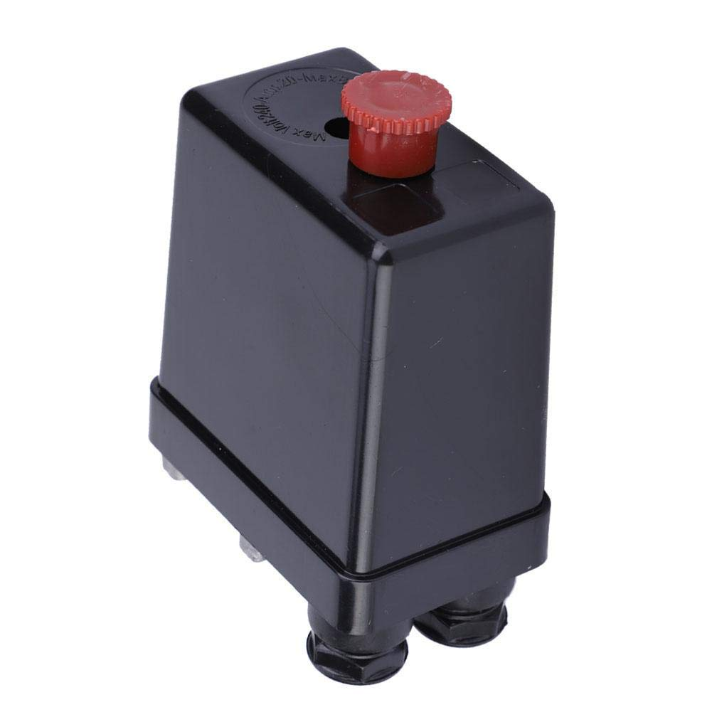 einphasiger//dreiphasiger Luftkompressor-Druckregelschalter Luftkompressor-Druckschalter einzelphase Druckregelventilregler mit Einstellknopf