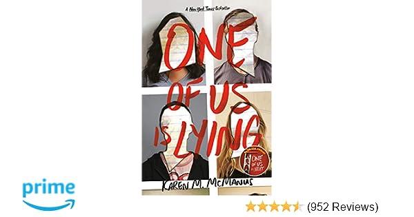 Amazon.com: One of Us Is Lying (9781524714680): Karen M ...