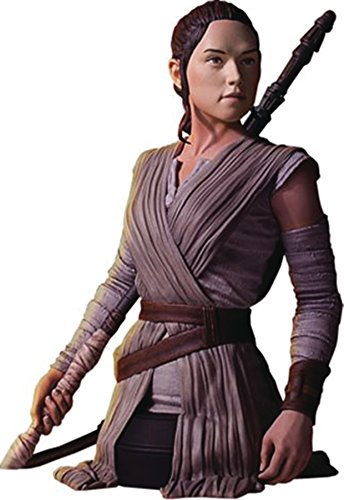 Gentle Giant Studios Star Wars: the Force Awakens: Rey Mini Resin Bust, 1/6th (Mini Bust Discount)