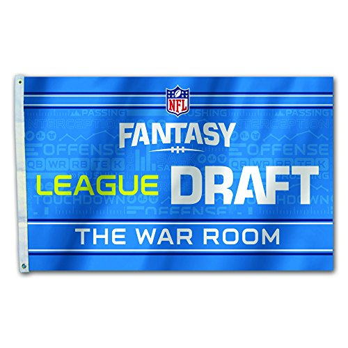 Fremont Die NFL Fantasy Football Flag, Draft Party, 3' x 5' -