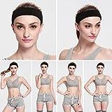 Men & Women Sweatband Headband Terry Cloth Moisture