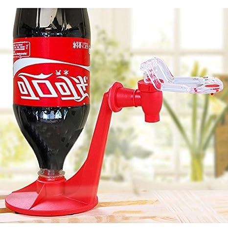 Jiayuane Fizz Saver Refrigerator Dispensador de refrescos de 2 litros, gaseosa para beber agua Máquina de coque de cocina Utensilios para dispensadores de ...