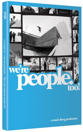 Ally Distribution Mack Dawg We're People Too Snowboard DVD