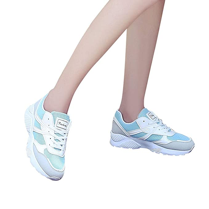 Longra❤ ❤ Calzado de Running para Estudiante, Calzado Deportivo ...