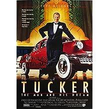 OnlyClassics 1988 TUCKER THE MAN AND HIS DREAM MOVIE POSTER AUTO CAR AUTOMOBILIA JEFF BRIDGES