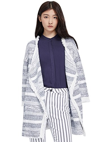 meters-bonwe-womens-striped-draped-collar-fringed-open-front-cardigan-bluewhite-xl