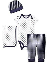 Baby Infant 4-Piece Organic Gift Set
