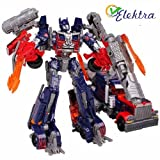 Elektra Robot To Truck Converting Figure Toy (Red)