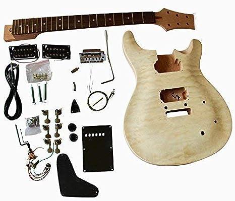 gd820 Caoba Cuerpo con acolchado Arce Chapa Top Guitarra ...